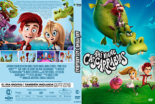 Here Comes the Grump - Ahí viene Cascarrabias - Cover DVD